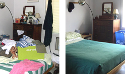 Before & After – Bedroom 02