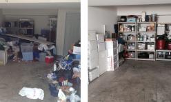 before & after- garage 6