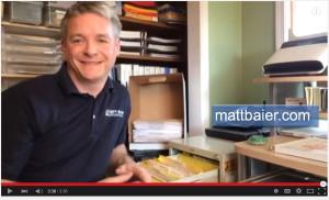 Matt Baier Organizing file rotation