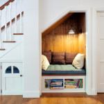 Great Ideas For the Space Under the Stairs