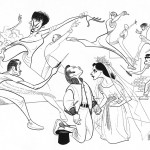 Organizing and the Al Hirschfeld Effect
