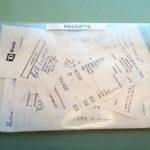 receipt envelope