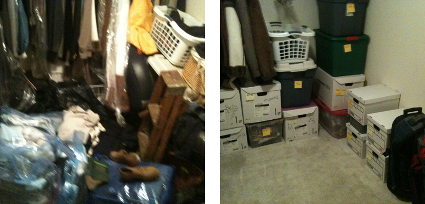 Before & After - Closet