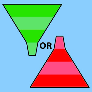 funnel go and stop copy