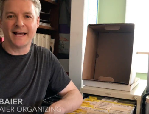 Organizing Paperwork Clutter at Home