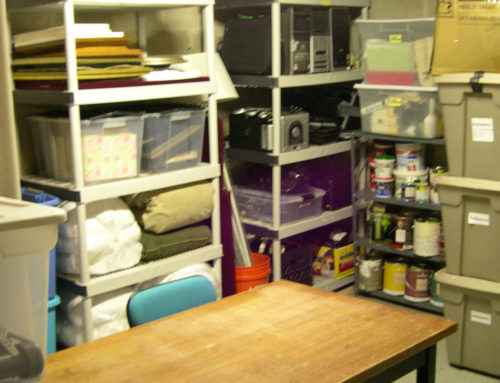 Five Organizing Tips for Basement Storage