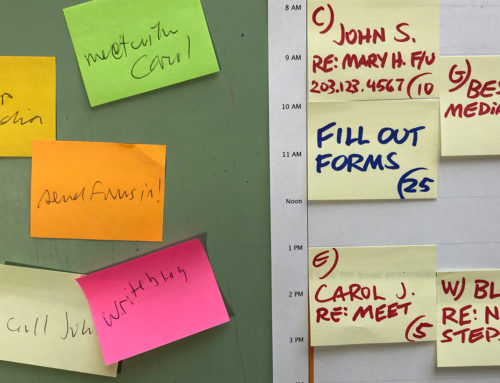 Organizing With Post-It Notes: Good or Bad?