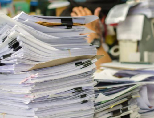 Paper Organizing: How to Blaze Through It (Without a Fire)