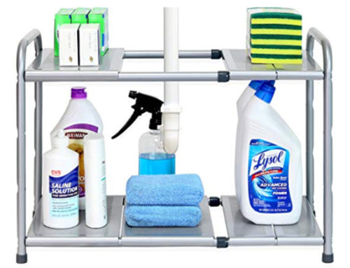 Product Review: Under Sink 2 Tier Expandable Shelf Organizer