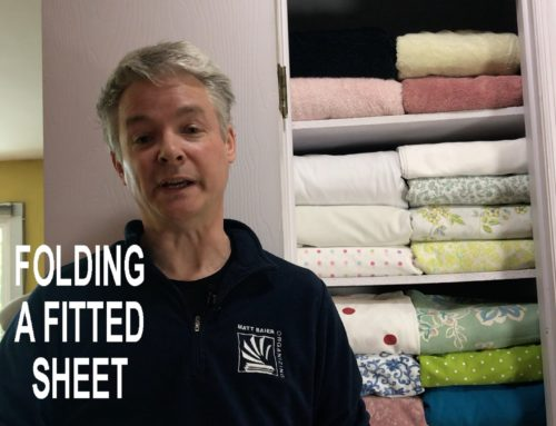 A New Take on How to Fold a Fitted Sheet