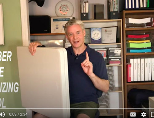 Your Number One Organizing Tool (video)