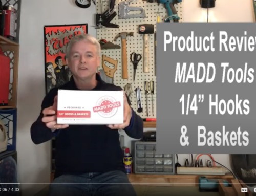 Product Review: MADD Tools Pegboard 1/4″ Hooks & Baskets