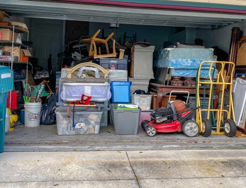 Organize the Garage First