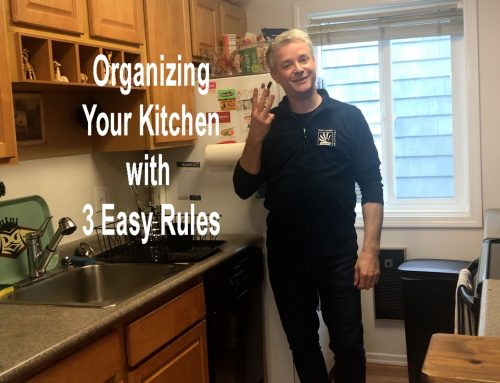 Organizing Your Kitchen with 3 Easy Rules