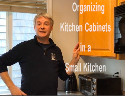 Organizing Kitchen Cabinets in a Small Kitchen